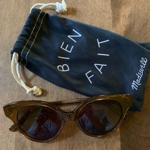 Madewell Cat Eye Sunglasses